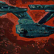 Star Trek Triptec Print by David Karasow