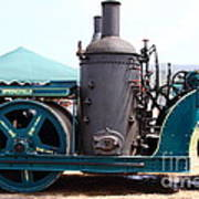 Steam Powered Roller 7d15116 Print by Wingsdomain Art and Photography
