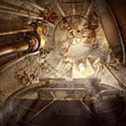 Steampunk - Naval - The Escape Hatch Print by Mike Savad