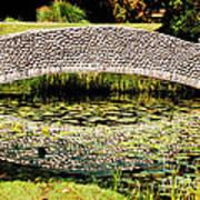 Stone Bridge Print by HD Connelly