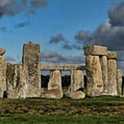Stonehenge Print by Heather Applegate