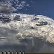 Storm Clouds Thunderhead Print by Mark Duffy