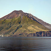 Stromboli Volcano, Aeolian Islands Print by Richard Roscoe