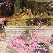 Study For The Roses Of Heliogabulus Print by Sir Lawrence Alma-Tadema