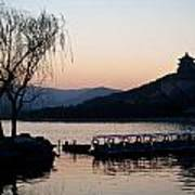 Summer Palace Evening Print by Mike Reid
