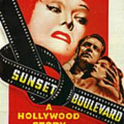 Sunset Boulevard Print by Georgia Fowler