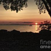 Sunset Cruise Print by Pamela Baker