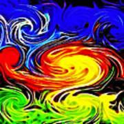 Sunset Swirl Print by Stephen Younts
