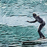 Surf Print by Tilly Williams