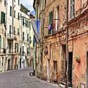 Taggia In Liguria Print by Joana Kruse