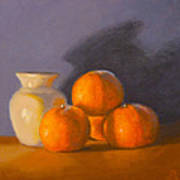 Tangerines Print by Joe Bergholm