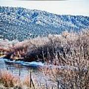 Taos Creek Print by Lisa  Spencer