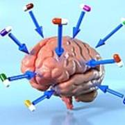 Targeted Psychological Drug Treatments Print by David Mack