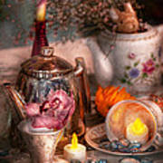 Tea Party - I Would Love To Have Some Tea  Print by Mike Savad