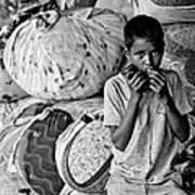 Technology In Sweatshop Print by Kantilal Patel
