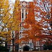 Tennessee Ayers Hall Print by University of Tennessee Athletics