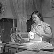 Tennessee: Farm Wife, 1942 Print by Granger