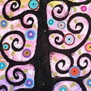 Textured Tree Print by Karla Gerard