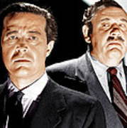 The Big Clock, From Left Ray Milland Print by Everett