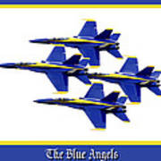 The Blue Angels Print by Greg Fortier