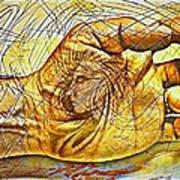 The Body As The External Representation Of Internal Reality Print by Paulo Zerbato