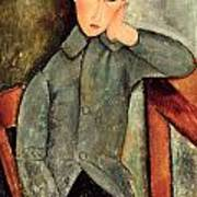 The Boy Print by Amedeo Modigliani