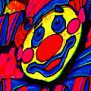 The Circus Circus Clown Print by Wingsdomain Art and Photography