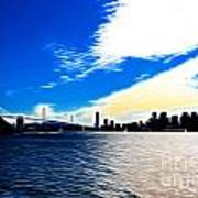 The City By The Bay Print by Wingsdomain Art and Photography