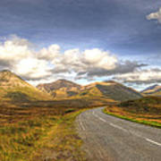 The Cuillin Mountains Of Skye Print by Chris Thaxter