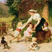 The Dancing Bear Print by Frederick Morgan