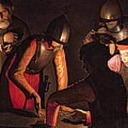 The Denial Of Saint Peter Print by Georges De La Tour