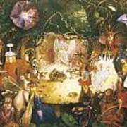 The Fairies Banquet Print by John Anster Fitzgerald
