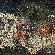 The Garden Of Gethsemane Print by Jonathan E Raddatz