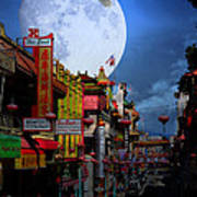 The Great White Phoenix Of Chinatown . 7d7172 Print by Wingsdomain Art and Photography