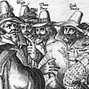 The Gunpowder Rebellion, 1605 Print by Photo Researchers