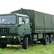 The Iveco M250 Used By The Belgian Army Print by Luc De Jaeger