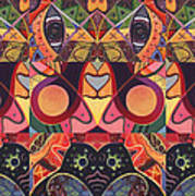 The Joy Of Design Series Guardians Print by Helena Tiainen
