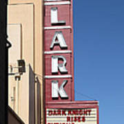 The Lark Theater In Larkspur California - 5d18490 Print by Wingsdomain Art and Photography