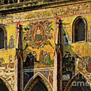 The Last Judgment - St Vitus Cathedral Prague Print by Christine Till