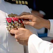 The Legion Of Merit Medal Print by Stocktrek Images