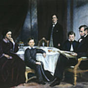 The Lincoln Family Print by Granger