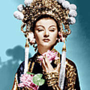 The Mask Of Fu Manchu, Myrna Loy, 1932 Print by Everett