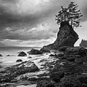 The Old Man Of The Sea - Strait Of Juan De Fuca Print by Nathan Mccreery