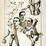 The Orpheum Show. Vaudeville Poster Print by Everett