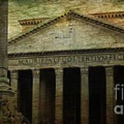 The Pantheon's Curse Print by Lee Dos Santos