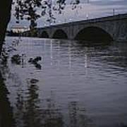 The Potomac Rivers Print by Stephen St. John