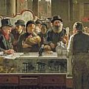 The Public Bar Print by John Henry Henshall