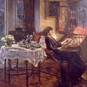 The Quiet Hour Print by Albert Chevallier Tayler