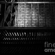 The Rear Window - Bw - 7d17463 Print by Wingsdomain Art and Photography