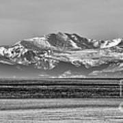 The Rockies Print by Heather Applegate